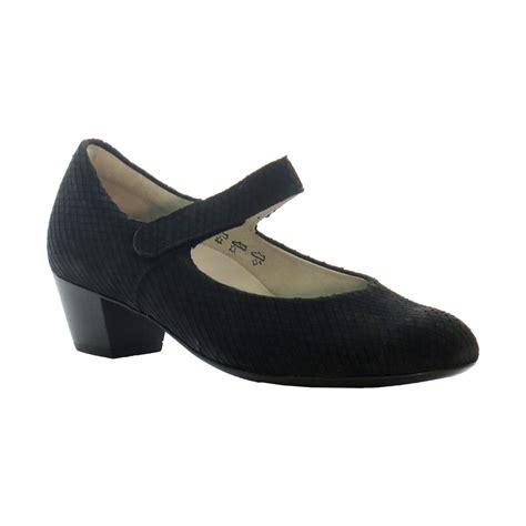 waldlaufer waldlaufer womens shoe 358303 black