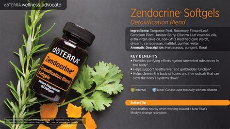 Essential Oils For Liver Detox Doterra by Zendocrine Softgels Dōterra Essential Oils