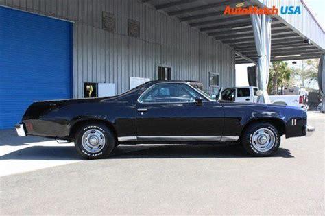 seller  classic cars  chevrolet el camino black