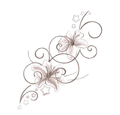 star lily tattoo designs 26 tattoos designs