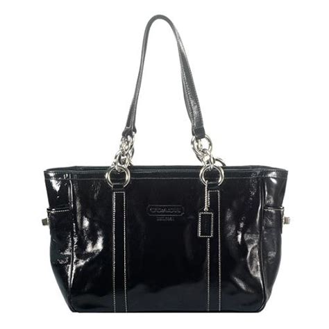Coach Gallery Patent Handbag by Coach Patent Leather Gallery Tote