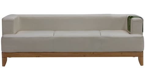 godrej sofa price plunge three seater synthetic leather sofa in white colour