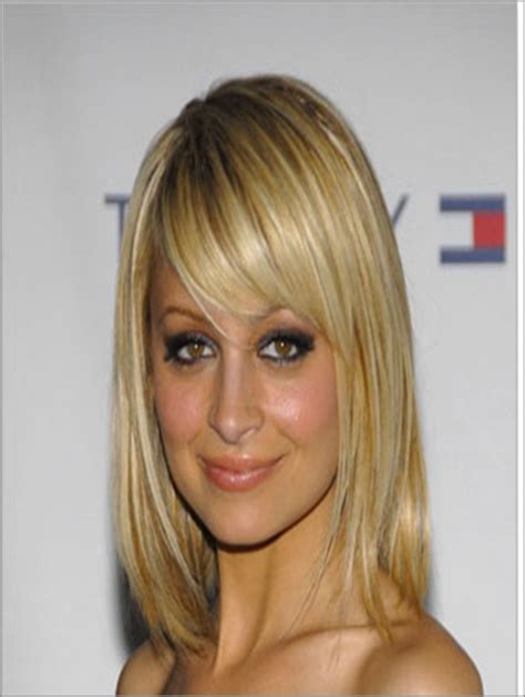 bob with heavy fringe heavy side fringe long bob hair ideas pinterest
