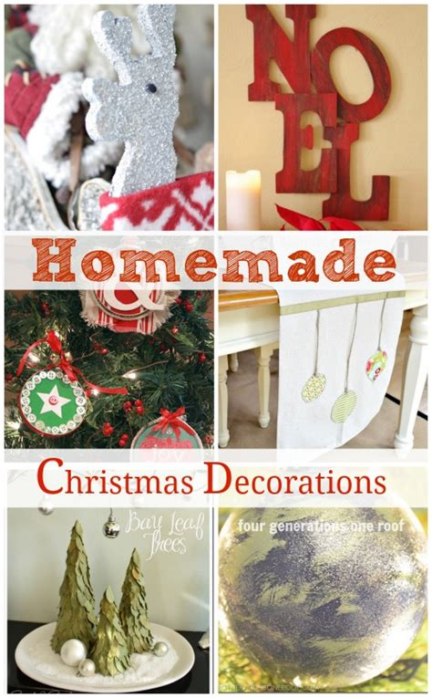 homemade christmas decorations for the home homemade christmas decorations our reindeer more