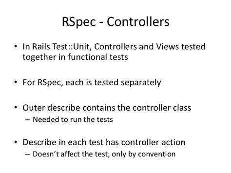 format html rspec rspec and rails