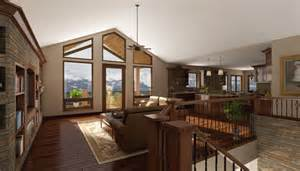 Open Floor Plans With Vaulted Ceilings by Custom Homes Amp Building Lots Castle Rock Amp Denver Area