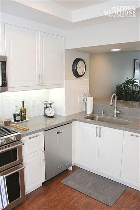 grey kitchen cabinets with quartz countertops quicua