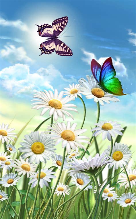 Flores y mariposas primavera aplicaciones de android en google play