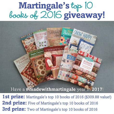 Martingale Quilting Books by You Spoken Our Top 10 Quilt Books Of 2016 Big
