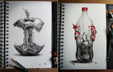 interesting pencil sketches amazing graphite pencil drawings fubiz media