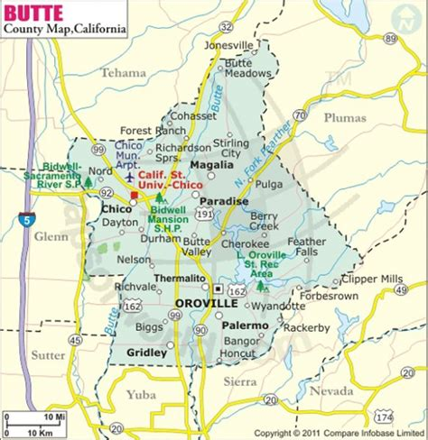 Butte County Search Buy Butte County Map