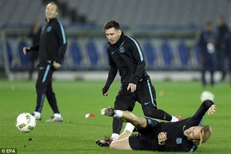 guangzhou evergrande can t compete with barcelona yet lionel messi ruled out of fifa club world cup semi final