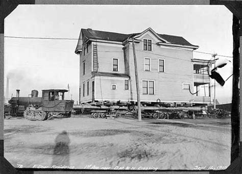 house movers mn minnesota historical society minnesota communities people hibbing moving hibbing