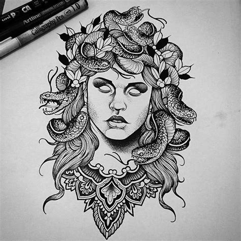 the 25 best medusa tattoo ideas on pinterest medusa