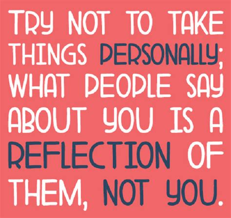 Personally by Dont Take It Personal Quotes Quotesgram