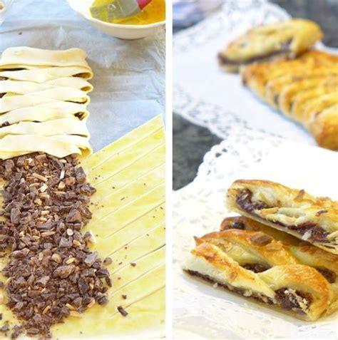 blätterteig kuchen rezepte bl 228 tterteig schokolade tasche laktosefrei laktosefreie