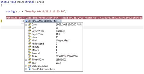 net tryparse datetime c dd mm yyyy hh ss stack overflow convert to datetime format