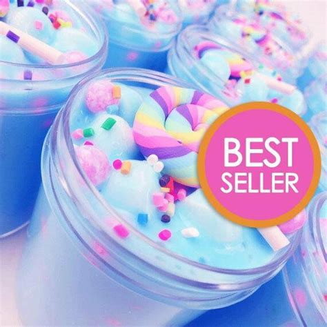 unicorn birthday cake slime scented  charm    oz   usa ebay