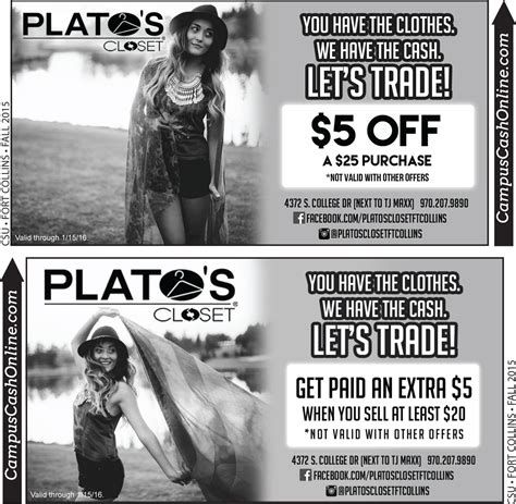 Plato Closet Coupon by Retail Archives Cus Coupons A Web Coupon