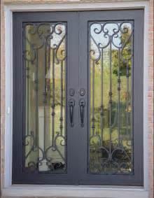 front doors on wrought iron doors wrought