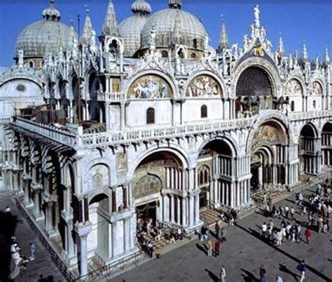 ingresso basilica san marco l architettura a venezia la basilica di san marco