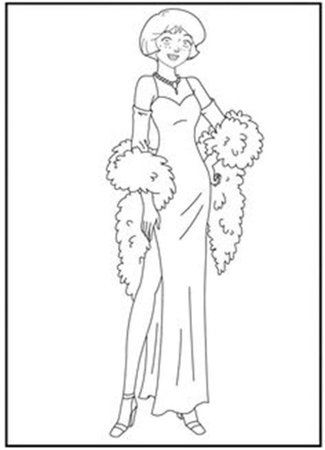 Coloring Page 12 Spies by 1000 Images About Totally Spies On Totally