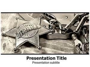 law enforcement prohibition ppt powerpoint template