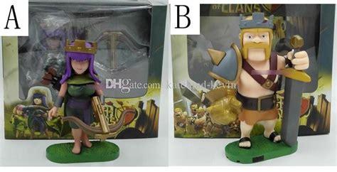Figure Clans Of Clash Archer Acher best clash of clans barbarian king archer pvc figure collectible dolls