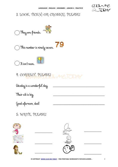 printable english test worksheets free printable english practice worksheet junior b iu1