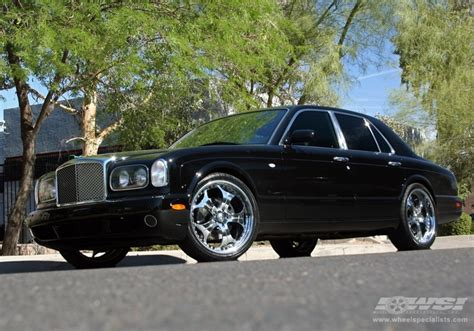 bentley arnage wheels 2005 bentley arnage with 22 quot gfg forged trento 5 in chrome