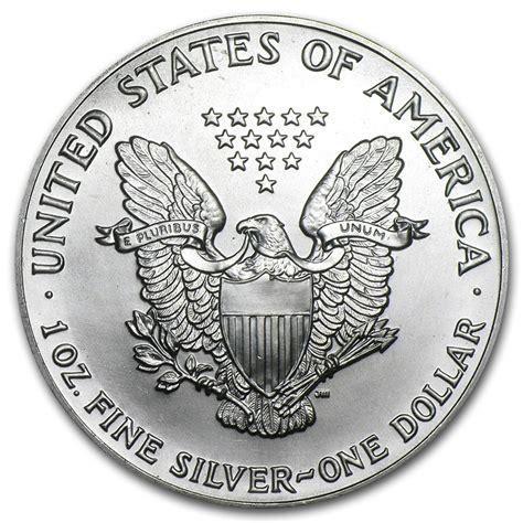 1 oz silver american eagle coin 1990 american silver eagle 1oz coin from u s mint bu