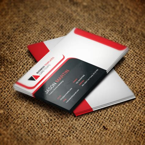 business card sheet template psd business card psd template template for free on