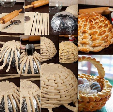 Dough bread basket praktic ideas find fun art projects to do at home