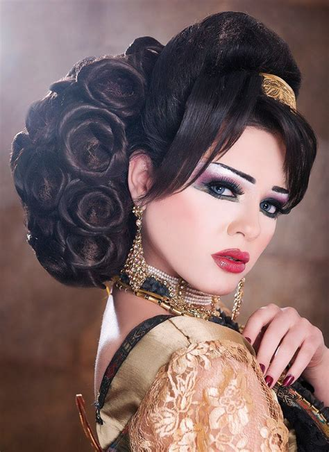 arabic hairstyles 2201 best images about arabic makeup and hairstyles on