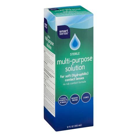 Multi Purpose Solution smart sense sterile multi purpose solution for soft contact lenses 12 0 fl oz