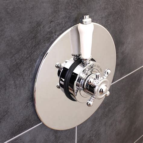 bathroom shower valve traditional concealed concentric solid brass dual