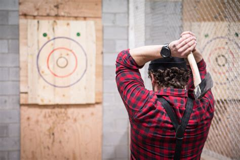 Backyard Axe Throwing Toronto backyard axe throwing league batl grounds