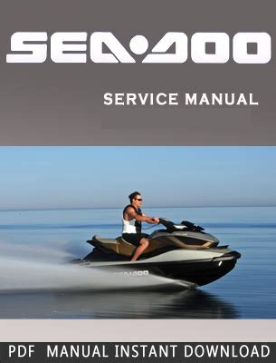 2001 Seadoo Sea Doo Personal Watercraft Workshop Manuals