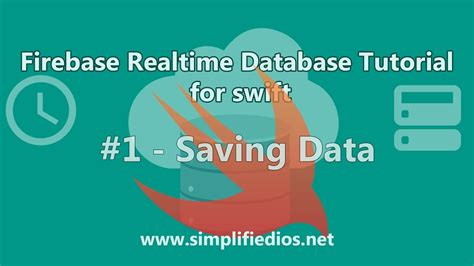 firebase data tutorial firebase database swift tutorial saving data 1 youtube