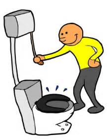 cartoon flushing toilet images clipart best