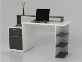 jpg bureau bureau met opbergruimtes zacharie wit en grijs