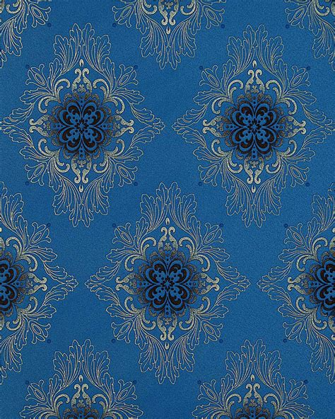 Opulent Wallpaper edem 826 24 wallpaper deluxe opulent baroque damask blue silver grey 75 sq ft ebay