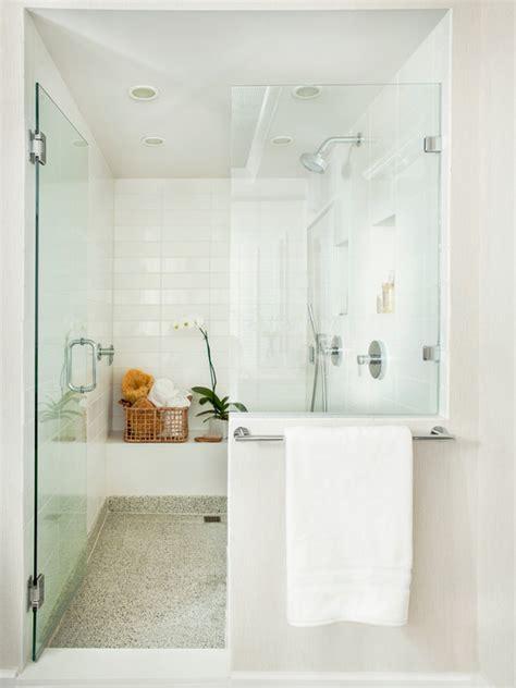 zen shower transitional bathroom mark williams design