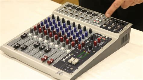 Mixing Console Mixer Peavey Pv8 8channel Limited peavey 8 mixer manual data set