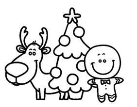 fotos de arboles de navidad para colorear dibujo de reno 225 rbol y mazap 225 n para colorear dibujos net