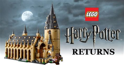 The Great Hall Harry Potter lego harry potter returns with 75954 hogwarts great hall