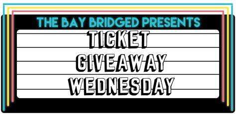 Tickets Giveaway - ticket giveaway wednesday cass mccombs dangermaker and more the bay bridged san