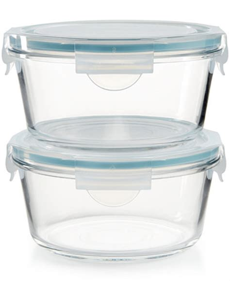martha stewart collection glass food storage containers martha stewart collection 4 pc glass food storage