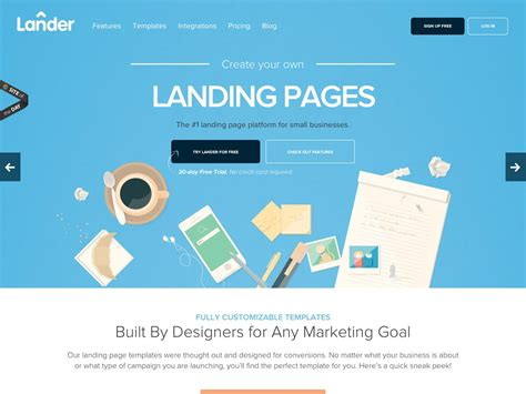 Sky Desain Tahukah Anda Jika Landing Page Bisa Meningkatkan Trafik Sebuah Website Cool Landing Page Templates