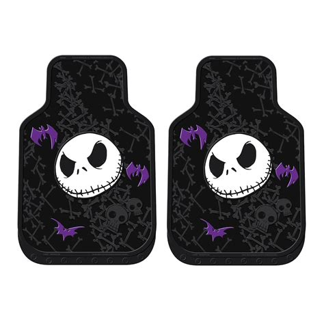 Nightmare Before Floor Mats by 9pc Nightmare Before Skellington Seat